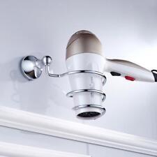1x Soporte Cable para Secadores de Pelo Montada de Pared Accesorio Baño Casa