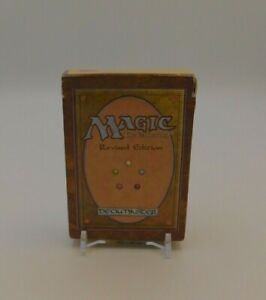MTG EMPTY REVISED / 3rd EDITION Starter Deck Box  -No Cards or rule book - Magic