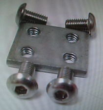 20 of The Worlds Best Stainless Steel G-Scale Track Locks Fits LGB,USA, & Others