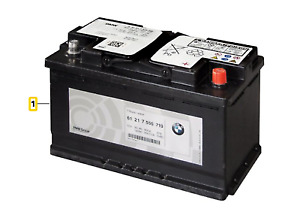 Genuine BMW 3 5 6 7 8 X3 X4 X5 X6 X7 Z4 Original AGM-Battery 105AH 61217604808