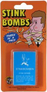 Stink Bombs - Novelty Prank Fart Smelly Rotten Egg Trick Toy Practical Joke Kids
