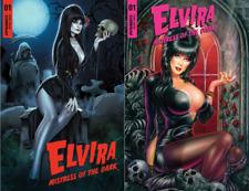 Elvira #1 by Elias Chatzoudis & Monte Michael Moore Variant Combo