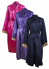 Unbranded Satin Kimono Robes for Women