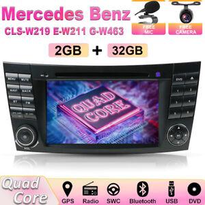 "7""Car Stereo For Mercedes Benz E-Class W211 W219 GPS NAVI Head Unit DVD BT-5.0"