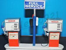 SINCLAIR Service Station Gas Pump Island(Ready to Display) 1:18-1:24 Scale NWB
