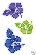 Wallies Wallpaper Cutouts Tropical Flowers