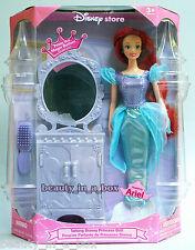 Ariel Talking Princess Disney Doll The Little Mermaid with Vanity ~ Rare