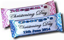 Caramelle Personalizzate x 30 Battesimo Festa Favore qualsiasi colore Damascato Design