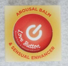 Love Button Cooling Arousal Balm & Sensual Enhancer Sensitivity .45oz Tin Edible