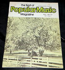 The Best Of Popular Music Magazine April-May 1977 Vol 5 No. 3 Piano-Vocal-Guitar