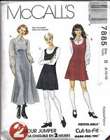8467 UNCUT McCalls Sewing Pattern Misses 2 Hour Wrap Capes HTF Vintage OOP NEW