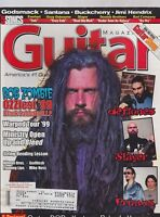 JULY 1999 GUITAR vintage music magazine ROB ZOMBIE - OZZFEST
