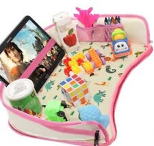 dmoose toddler car seat travel tray pink
