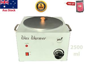 Wax Warmer LARGE 2500 ml Waxing Heater Depilatory Pro. Beauty Tool +Free