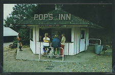 WA Carnation CHROME c.1970 CAMP GILEAD Pop's Inn SNACK SHACK on Snoqualmie River