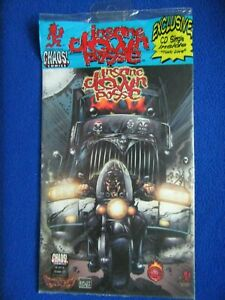 ~~ INSANE CLOWN POSSE THE PENDULUM #5 VARIANT W/CD ~ CHAOS COMICS 2000 ~~
