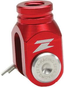 ZETA Red Rear Brake Clevis For Kawasaki KX 80 85 98-16,RM 80/85 125 250 01-08