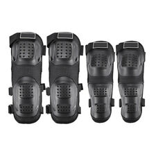 4Pcs Outdoor Adult Elbow Knee Shin Armor Guard Protector Mat for Motorcycle Bike