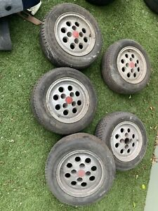 Mk2 XR2 Pepperpot Wheels and Tyres