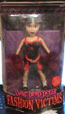 Living Dead Dolls Fashion Victims Series 1  Buxom Cheerleader Kitty w/2 Fashions