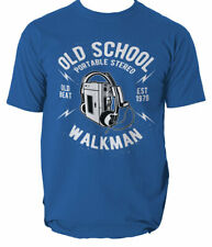 Old School Walkman t shirt music vintage S-3XL