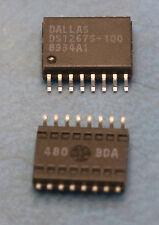 Dallas Maxim DS1267S-100 SMD SO16 wide pkg Dual Digital Potentiometer Chip 100K