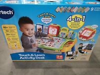 VTech Interactive LED 4 in 1 Touch & Learn Activity Desk