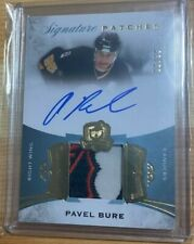2015/16 UD The Cup Pavel Bure 3 signature patches Auto Autograph #36/99 Canucks