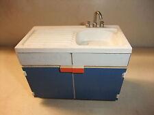 Puppenstube Kaufmannsladen Möbel für die Küche Küchenmöbel Aufwaschschrank Spüle