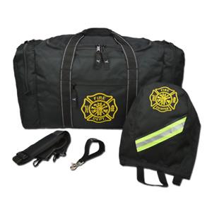 Lightning X Firefighter Turnout Gear Package - Gear Bag, SCBA Mask Bag, Fire Glo