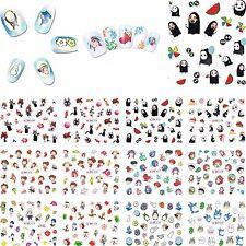 12 Sheets Hayao Miyazaki Studio Ghibli Totoro Spirited Away Nail Stickers Decals