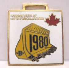 Canadian Association of Watch Fob Collectors CAOWFC 1980 Crawler Loader Bucket