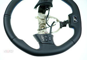 Lexus custom steering wheel is250 is220 is300 flat bottom thick IS F LedermanZ