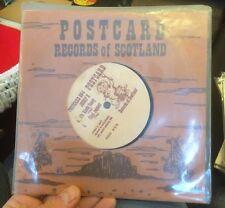 JOSEF K Radio Drill Time 45 Orig Postcard Records Of Scotland Import RARE NM