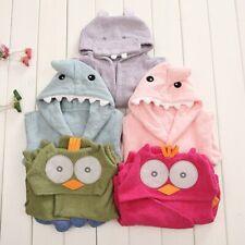 1pcs New Baby Bathrobe Sleepwear Animal Cosplay Dressing Gowns 9 Patterns 0-2Y