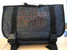 Superdry Nation Messenger Bag - Grey Marl BNWT