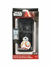 NEW Disney Star Wars LLM-i6B7-FXV6 BB-8 iPhone 6/6s Protective Light Up Case bb8