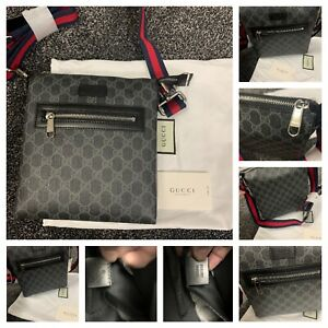 Gucci GG Supreme small messenger bag (Next Day Delivery) Uk Seller