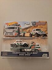 Hot Wheels 2020 Car Culture Team Transport Vw Baja Bug Wide Open Truck - New
