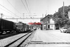 PHOTO  SWITZERLAND TRAM 1985 BIERE BE4/4 TRAM NO 12