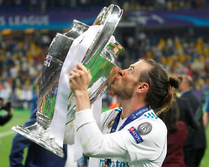 Gareth Bale Real Madrid Champions League Unsigned 8x10 Photo #4