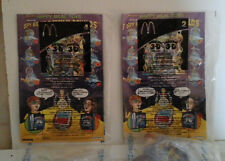 2 NEW IN PACKAGE McDONALD'S HAPPY MEAL 2003 SPY KIDS 3D #2 & #4