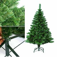 7Ft Christmas Tree Green With Metal Stand Pine 1000 Tips Xmas Party Home Decor