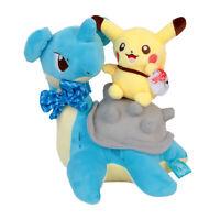 Pokemon Center Plushie Lapras Pikachu Plush Doll Stuffed Toy 10 inch Gift