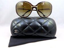 Chanel 6045-T c.714/S9 POLARIZED Tortoise/Gold New Authentic Sunglasses 55mm