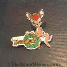 Rare Disney Le Happy Holiday's Bambi Travel Agent Premium Pin (Uz:57760)