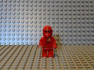 LEGO NINJAGO NRg Kai Minifigure Red Fire Ninja njo005 - Torso Crack
