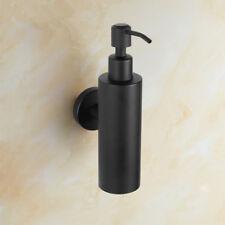 Wall Mount Bathroom Soap Dispenser Bottle Liquid Shampoo Holder Stainless Steel