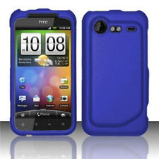 For HTC Droid Incredible 2 Rubberized Hard Case Phone Cover Rubber Dark Blue