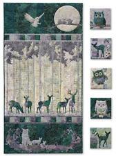 Moon Shadow McKenna Ryan Pine Needles Forest 8 Quilt Pattern Set